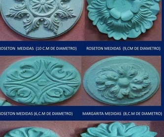 Escudos futbol y frentes de chimenea: Catálogo de I. De Escayolas Palomares