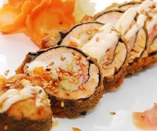 Sushi Rolls tempurizados sin arroz