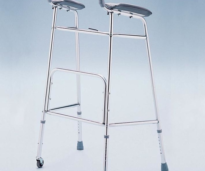 Andador con soporte antebrazos: Catálogo de MSB Mundo Sin Barreras