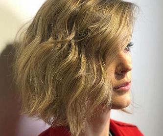 Estilismo: Peluquería de ÁLVARO CASTILLERO HAIR ARTIST