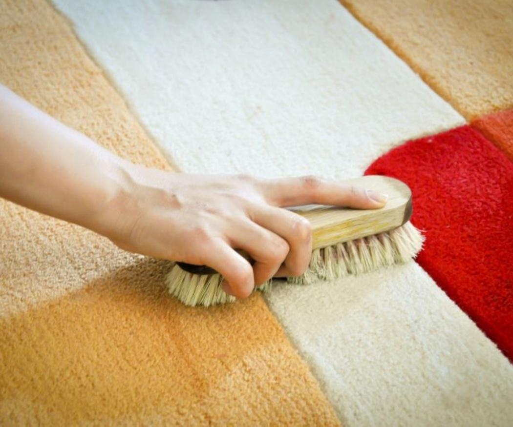 La limpieza de las alfombras