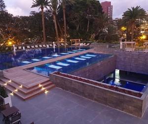tarima piscina Hotel Santa Catalina