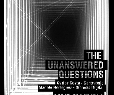 THE UNANSWERED QUESTIONS en Café Teatro Rayuela