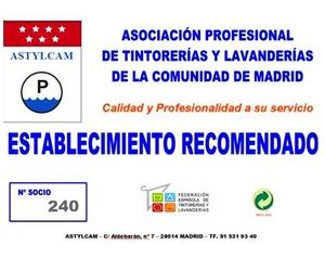 Tintorerías Dimar. Tintorería-Lavandería, Servicio a domicilio todo Madrid