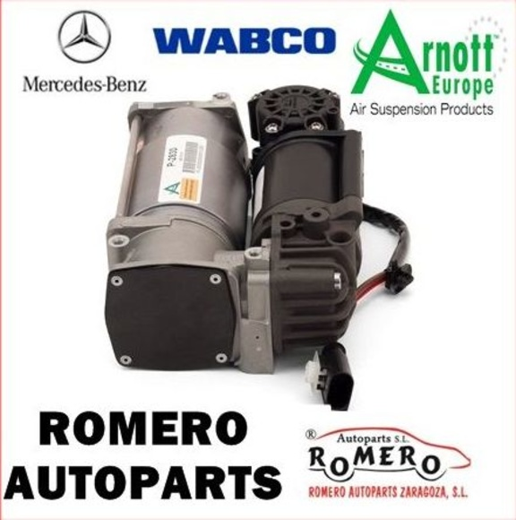 COMPRESOR DE LA SUSPENSIÓN DE MERCEDES SERIE E W212 CLS W218: Suspensiones y vehículos de Romero Autoparts Zaragoza