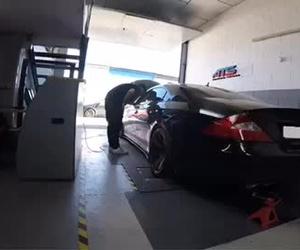 Mercedes SLC 63 AMG 514Ps - 667Nm lanzado en nuestro Banco de Potencia en Sevilla de ATS-Tuning Sport.com