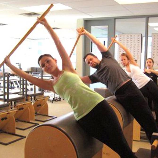 Ventajas de las máquinas en el método Pilates