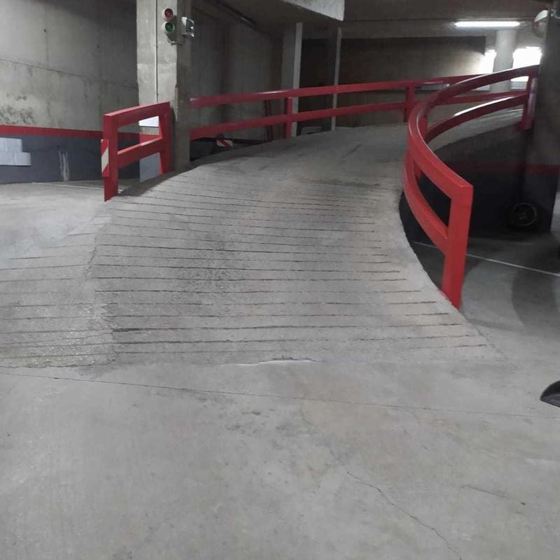 limpieza suelos de garage