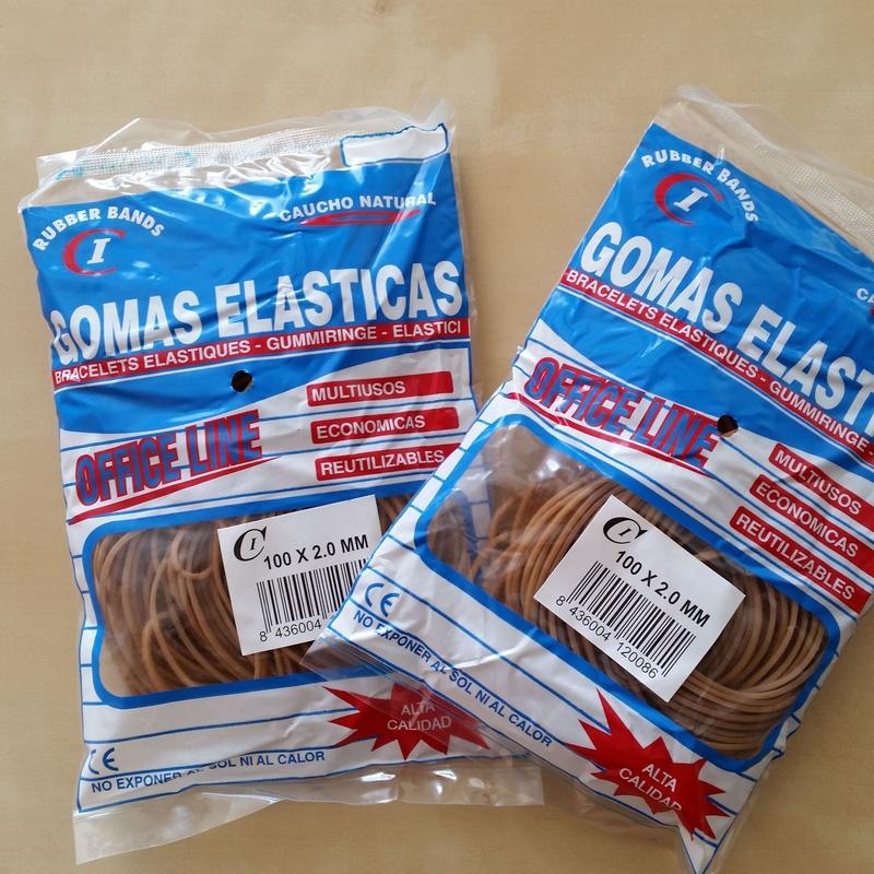 Bolsa Gomas Elásticas 100 Gr : Productos y Servicios de Cobo Industrial