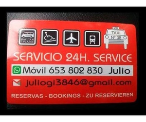 Taxi Torrevieja Servicio 24 h.