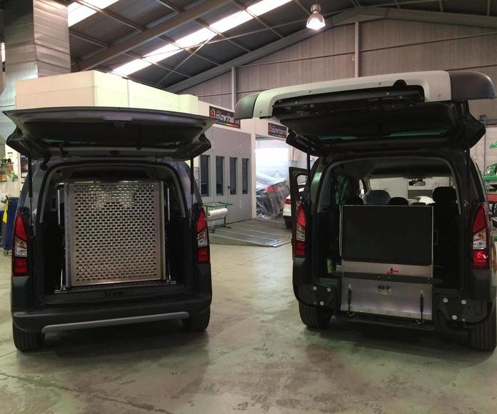 Adaptación de vehículos en Aviles