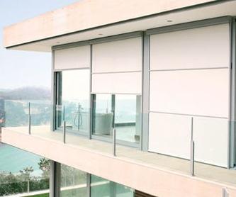 Cortinas enrollables para interior: Productos de Cristalería Juanco