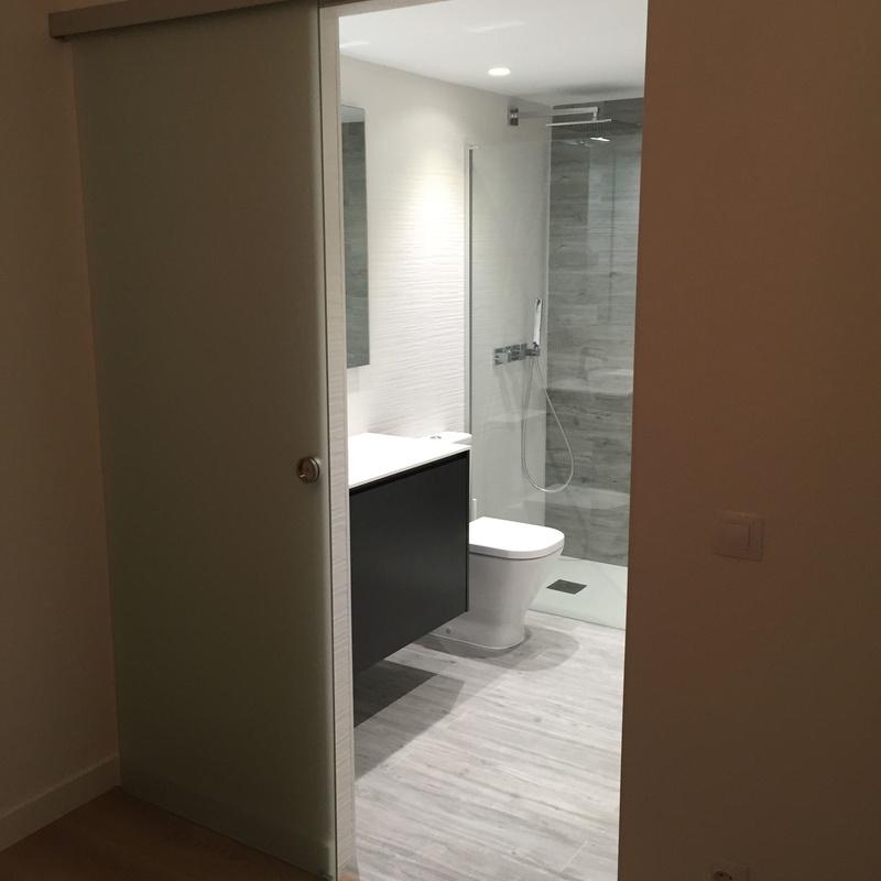 Reforma baño habitacion