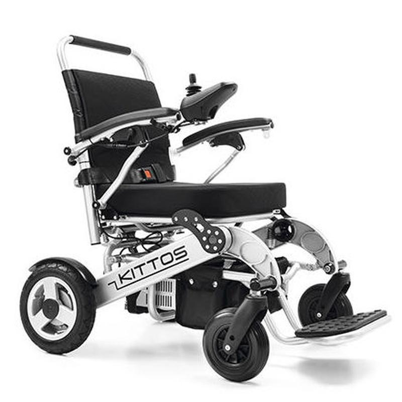 La silla eléctrica plegable más ligera y compacta del mercado.