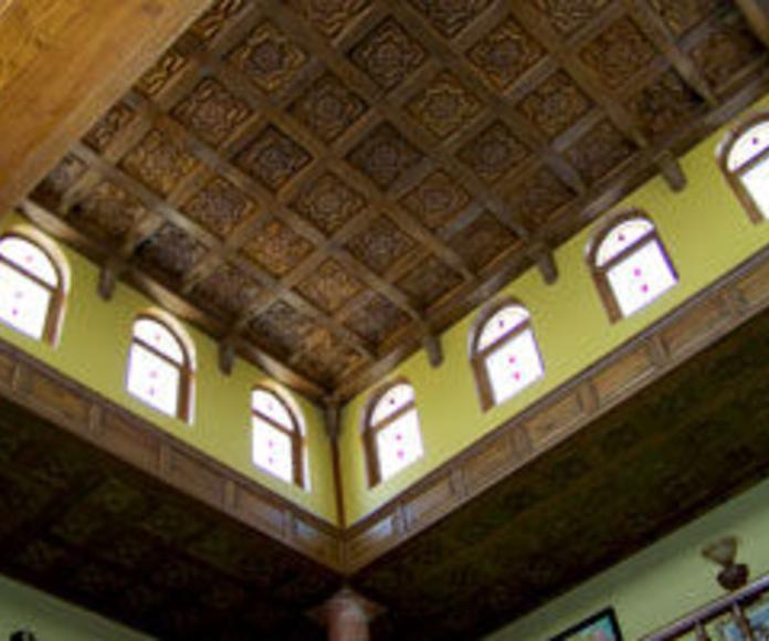 Carpintería de madera exterior : Productos y servicios de Industrias de la Madera, S.C.