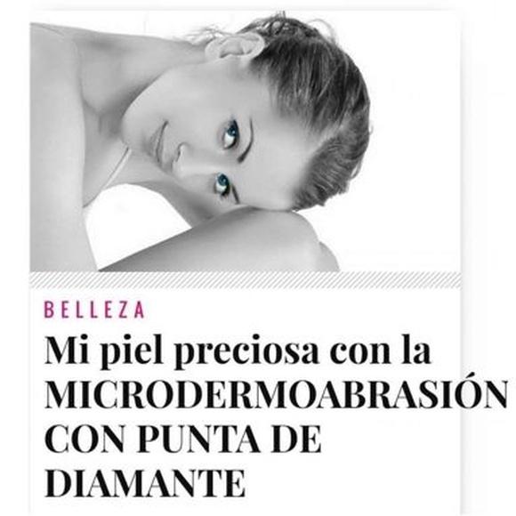 Dermoabrasión con punta de diamante: Servicios de Alonzo peluqueros | peluquería en plaza mayor