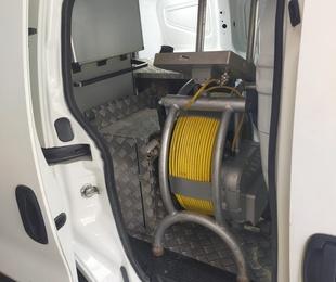 Inspecciones de tubería con robot de inspección Atex 100-1000