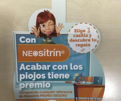 NEOSITRIN, tratamientos para liendres y piojos