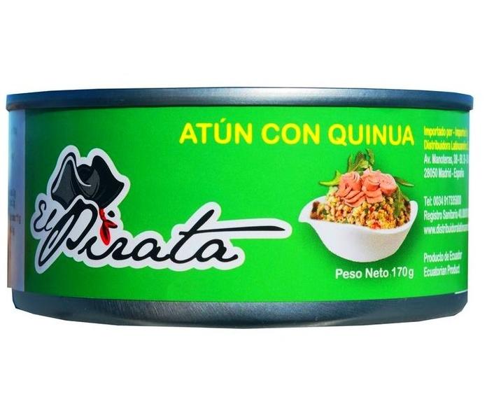 Atún con quinua: PRODUCTOS de La Cabaña 5 continentes