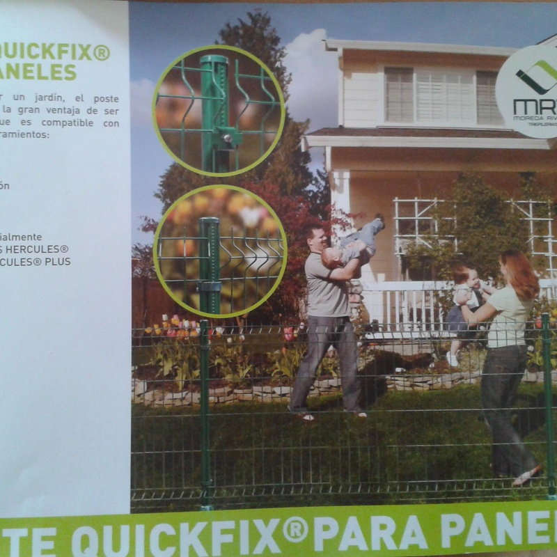 Poste Quickfix para paneles