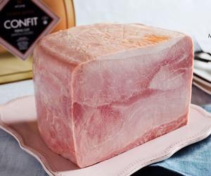 Jamón cocido confit duroc desllaunat con piel