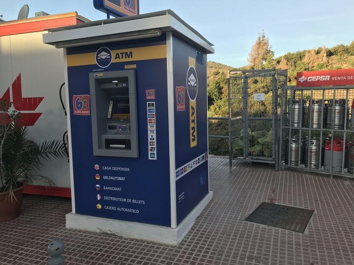 Cajero automático: Servicios de Cepsa Cajiz