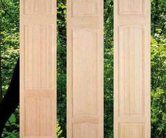 Puertas de armarios de cocina: Catálogo de Maderas Perafort