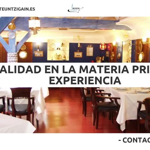 Restaurantes para celebraciones en Vizcaya: Untzigain