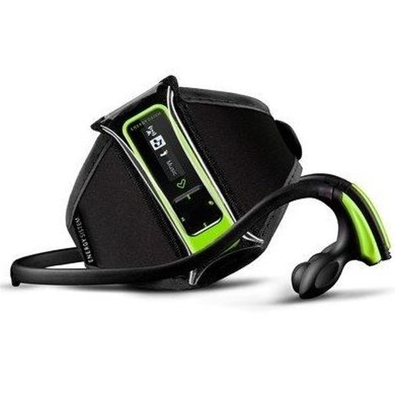 Energy Sistem MP3 Running Neon 8GB Braza+Pod Verde: Productos y Servicios de Stylepc