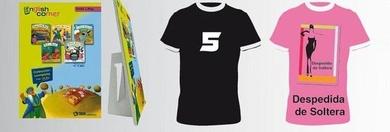 Estampación de camisetas en Gracia