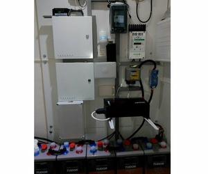 Instalación de acumuladores de energía
