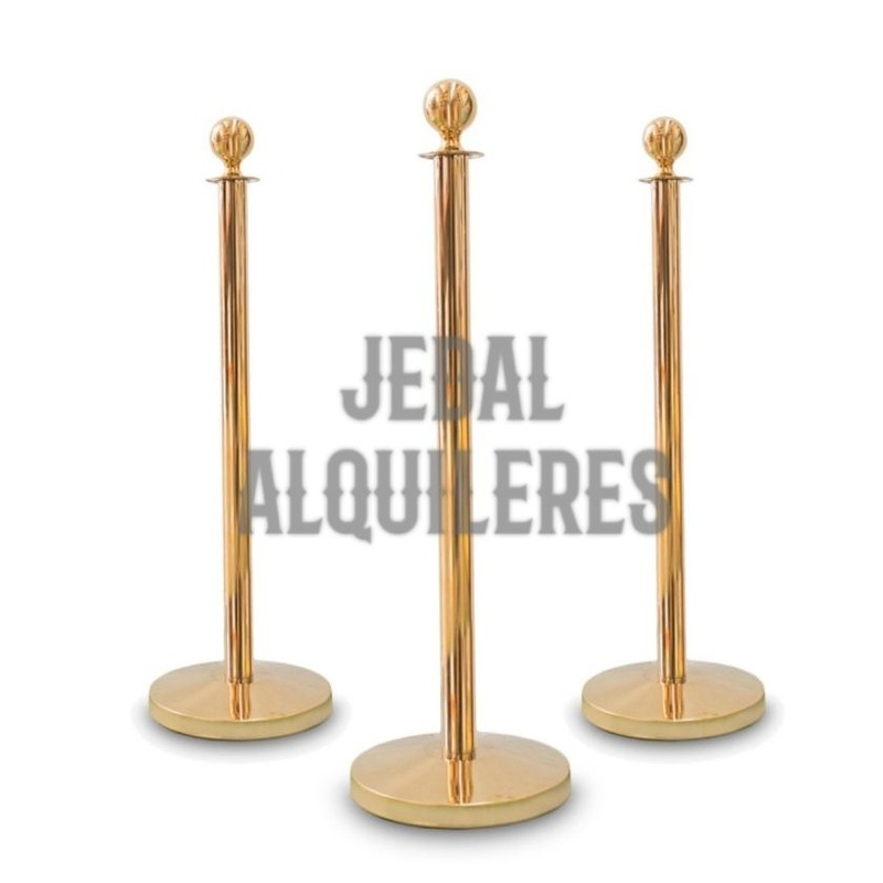 Mástil soporte para cordón: Catálogo de Jedal Alquileres