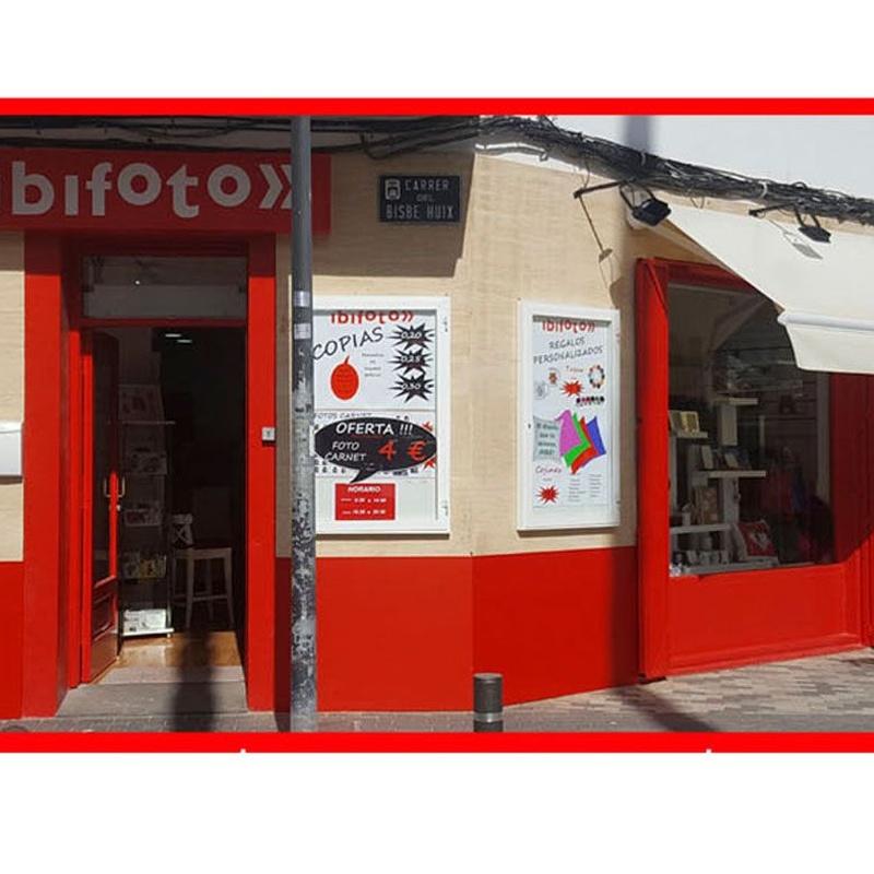 Venta Online: Servicios y productos de Ibifoto