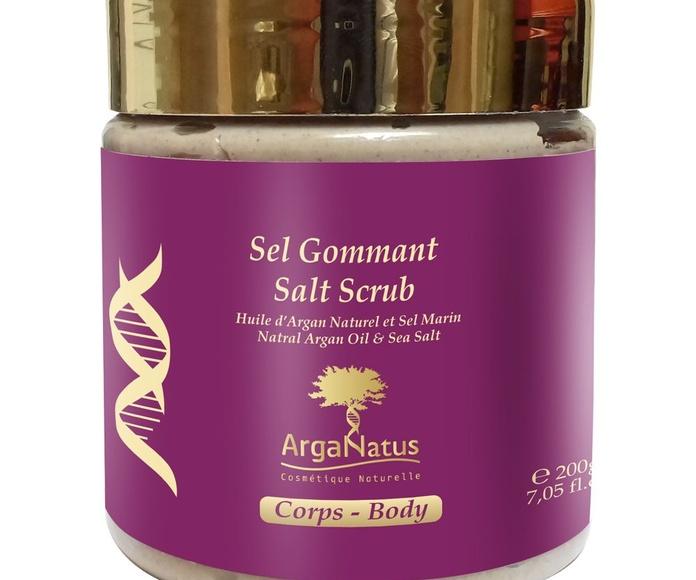Exfoliante de sal: Productos de Argan Aceite Puro