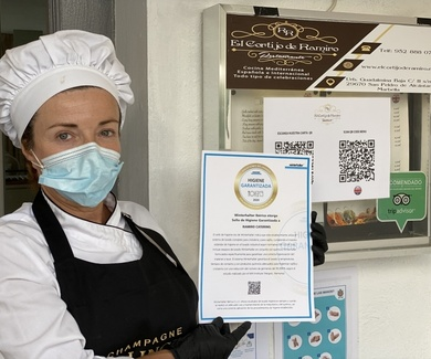 Cumplimos con los estándares de calidad y normativa de limpieza e higiene - COVID - 19