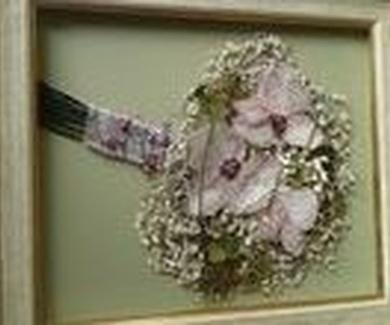 Curso de secado de ramos de novia