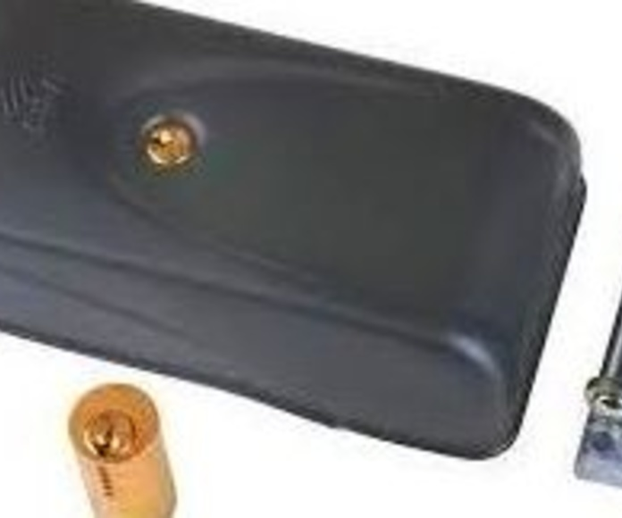 Cerradura eléctrica puertas batientes