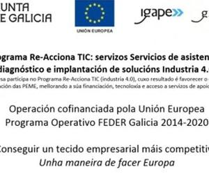 Proyecto Re-Acciona TIC Financiado por IGAPE