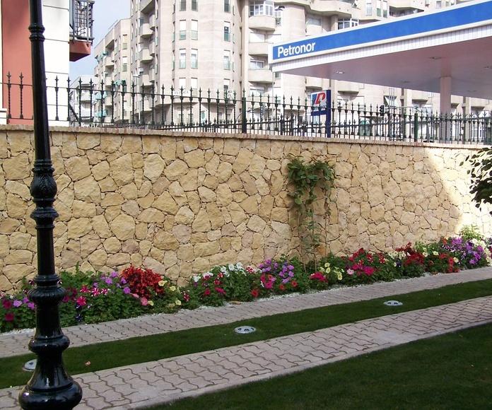 Muro en piedra de la Nucia