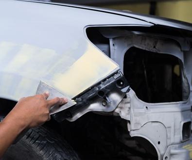 Pintura y reparación de paragolpes