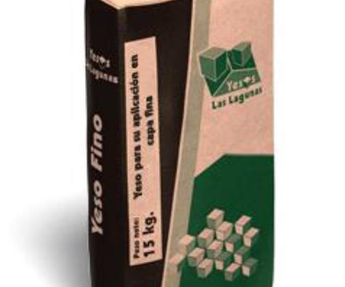 Yeso fino Laguna: Catálogo de Materiales de Construcción J. B.
