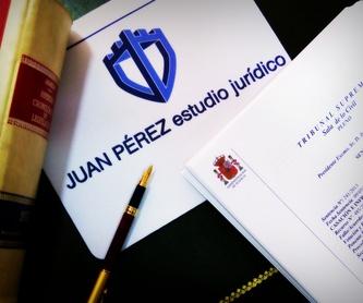 Transparencia e información: Servicios de Juan Pérez - Estudio Jurídico