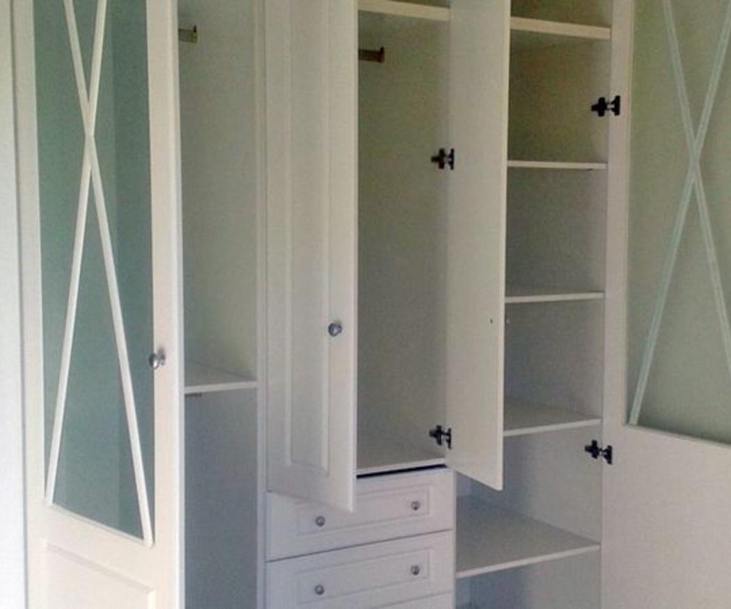 Los armarios empotrados por dentro