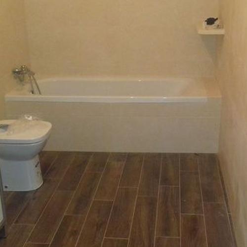 Acabado de baños de calidad