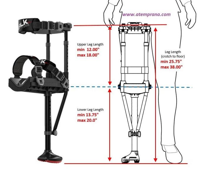 Iwalk 2.0 medidas