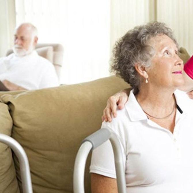 Los cuidados en la residencia de ancianos