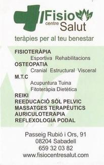 Oferta Masajes Terapéuticos
