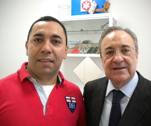 Florentino Pérez en centro médico A tu Salud, Arturo Soria