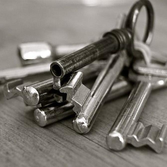 ¿En qué consiste el amaestramiento de llaves?