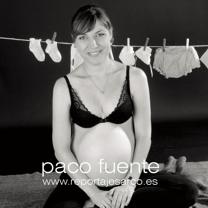 Fotografía de embarazada en Burgos - Fotógrafo en Burgos
